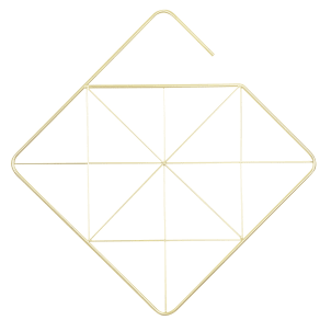 Umbra Square Scarf Hanger, Brass