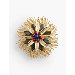 Talbots Women 039 S Frayed Flower Pin