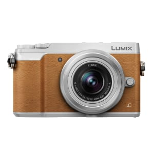Panasonic Lumix Dmc-Gx80 Compact System Camera With 12-32mm Interchangable Lens, 4k Ultra Hd, 16mp, 4x Digital Zoom, Wi-Fi, 3 Lcd Touchscreen Free-Angle Monitor,tan