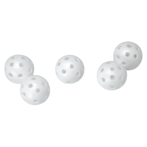 Izzo Golf Practice Perforated Golf Balls 24pk - White