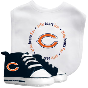 Baby Fanatic Nfl Chicago Bears Bib With Pre-Walker Set