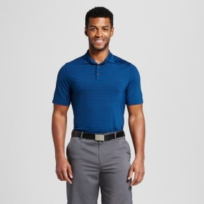 Men's Stripe Golf Polo Shirt - C9 Champion - Dark Night Blue M