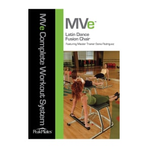 Peak Pilates Mvea(r) Latin Dance Fusion Chair Dvd