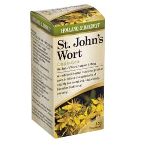 Holland & Barrett St Johns Wort 100 Capsules