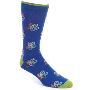 Cremieux Paisley Crew Socks