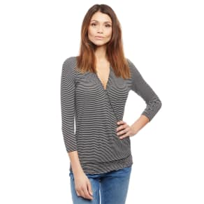 Smocked Pull Down Nursing Top