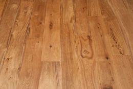 Natural Engineered Oak Brushed UV Oiled 14/3mm By 190mm By 2200mm