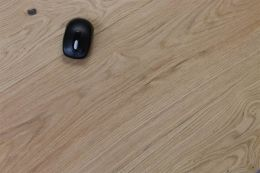 Natural Engineered Oak Bari Brushed UV Oiled 15/4mm By 250mm By 2200mm