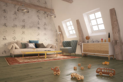 Select Engineered Oak Sahara Grey Brushed UV Lacquered 20/6mm By 180mm By 1900mm