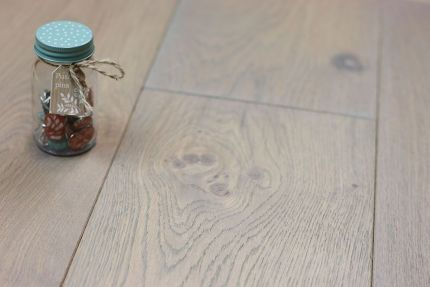 Natural Engineered Oak Click Spring Grey UV Oiled 14/3mm By 150mm By 400-1500mm