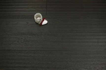 Select Engineered Oak Smoked Reclaim Black UV Oiled 15/4mm By 190mm By 1900mm