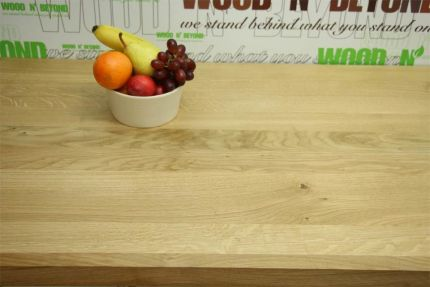 Full Stave Select American Oak Worktop Elite 38mm By 620mm By 2000mm