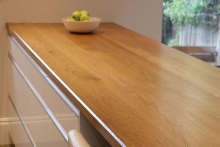 Full Stave Select Oak Worktop Elite 38mm By 620mm By 4000mm