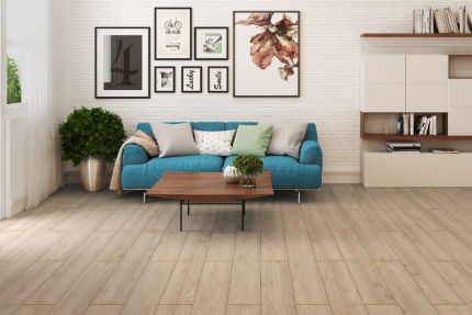 Indian Natural Brown Oak Laminate Flooring 8mm By 193mm By 1380mm