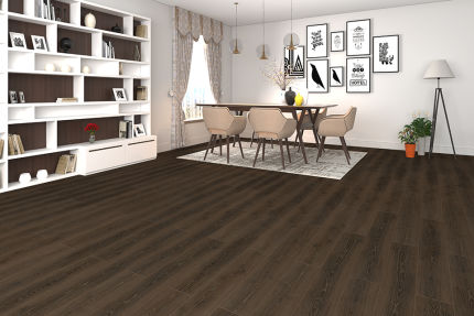 Caramel Oak Laminate Flooring 8mm By 195mm By 1380mm