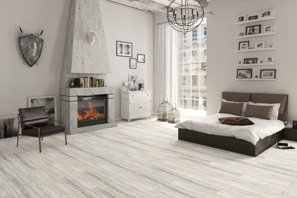 Montana Pine Laminate Flooring 12mm By 193mm By 1380mm