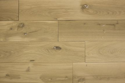 Natural Engineered Flooring Oak Brushed Unfinshed 15/4mm By 190mm By 1900mm