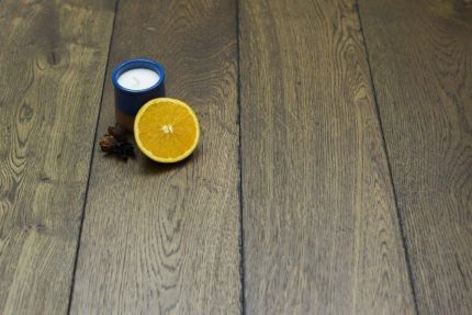 Natural Engineered Flooring Oak Reclaim Brown Brushed UV Oiled 15/4mm By 190mm By 1900mm