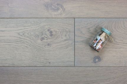 Natural Engineered Oak Spring Grey UV Oiled 15/4mm By 220mm By 2200mm