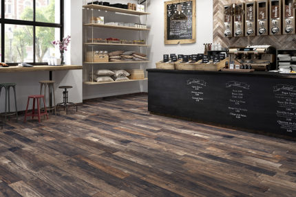 Porcelain Stoneware Madeira Black 150mm By 1000mm