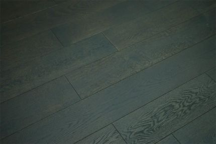 Select Engineered Flooring Oak Click Black Tea Brushed UV Oiled 14/3mm By 190mm By 1900mm