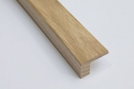 Solid Oak L Shape 25mm by 27mm by 2350mm