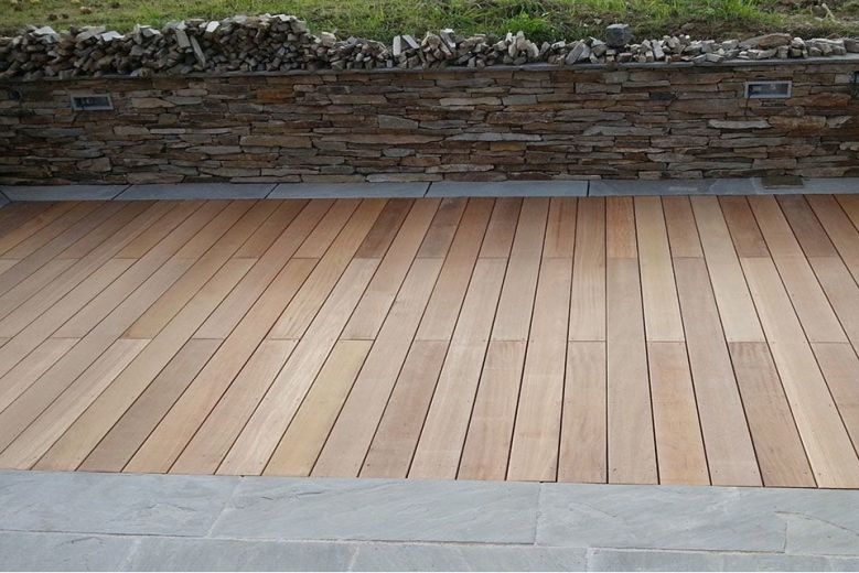Yellow Hardwood Boards ~ Yellow balau hardwood decking boards mm by