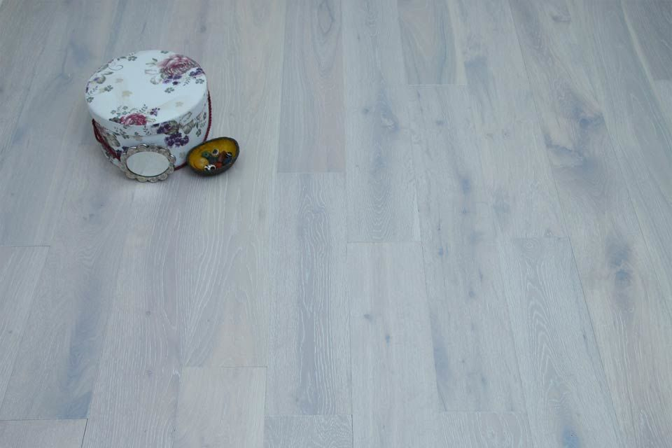 Natural Engineered Flooring Oak London White Brushed Uv Oiled 14 3mm By 150mm 400 1500mm