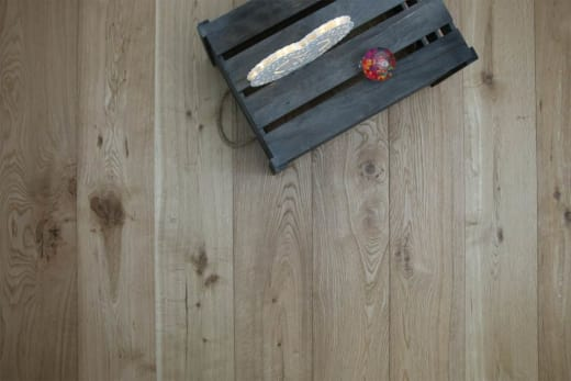 Natural Engineered Flooring Oak Brushed UV Oiled 15/4mm By 190mm By 1900mm