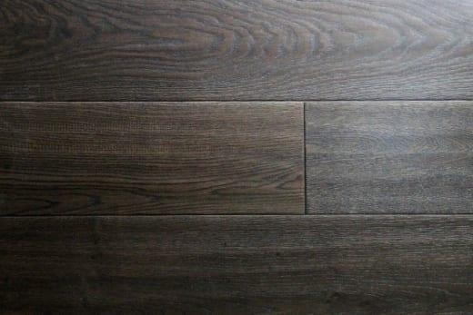 Natural Engineered Flooring Oak Reclaim Black Brushed UV Oiled 14/3mm By 150mm By 400-1500mm
