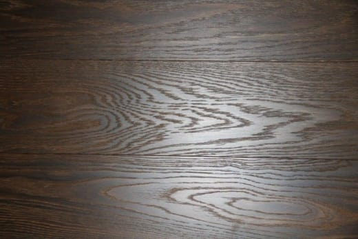 Prime Engineered Oak Click Dark Smoked Brushed UV Oiled 14/3mm By 146mm By 1205-1605mm