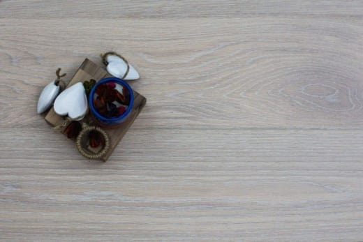 Prime Engineered Flooring Oak Click Sunny Wht Brushed UV Oil 14/3mm By 195mm By 1000-2400mm