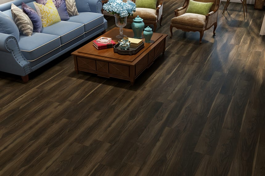 Flooring Vinyl Click Flooring Warm Smoked4.2mm By 178mm By 1220