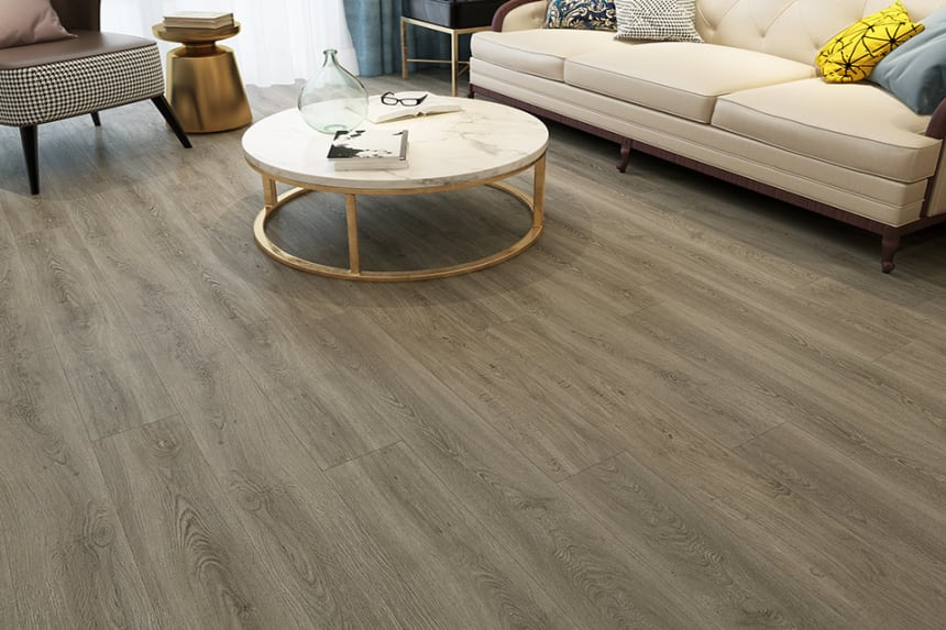 Flooring Vinyl Click Flooring Cotton Wood 4.2mm By 178mm By 1220