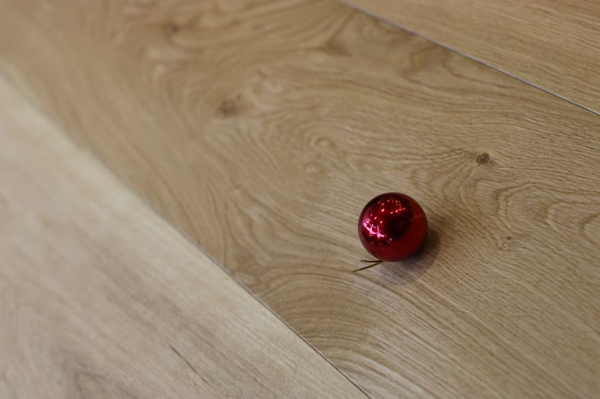 Natural Engineered Flooring Oak UV Oiled 15/4mm By 250mm By 1500-2200mm