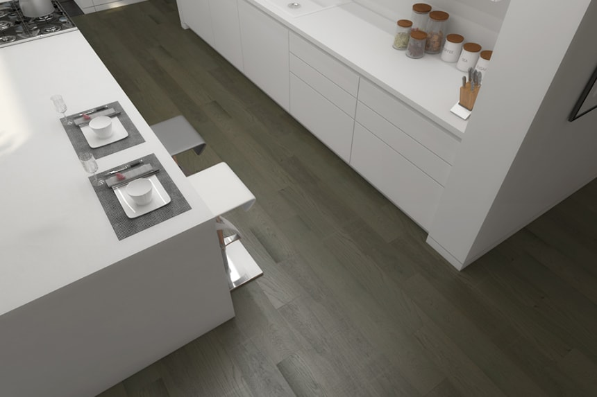 Select Engineered Oak Click Sahara Grey Brushed UV Oiled 14/3mm By 189mm By 1860mm