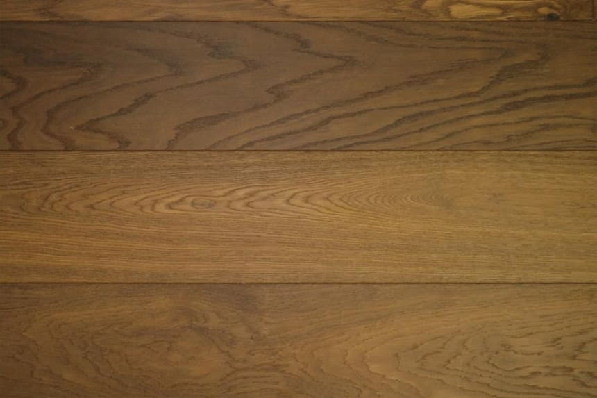 Natural Engineered Flooring Oak Dark Smoked Brushed UV Oiled 20/5mm By 180mm By 1900mm