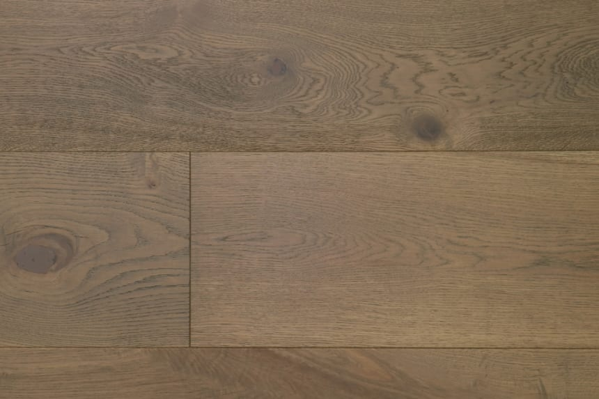 Natural Engineered Flooring Oak Roma Brushed UV Oiled 14/3mm By 190mm By 1900mm