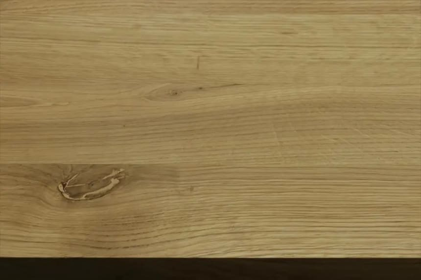 Full Stave Rustic Oak Worktop 25mm By 620mm By 2450mm
