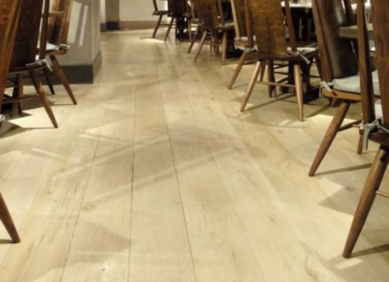 Natural Engineered Oak White Sand Brushed UV Oiled 16/4mm By 220mm By 2120-2400mm
