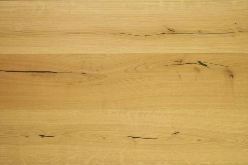 Natural Engineered Flooring Oak Brushed UV Oiled 15/4mm By 180mm By 1880-2180mm