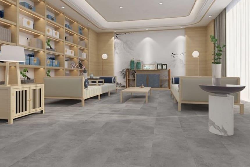 Luxury Click Vinyl Rigid Core Flooring Hood Tiles 4.2mm By 308mm By 610mm