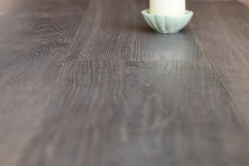 Natural Engineered Flooring Oak Bespoke Cemento Hardwax Oiled 16/4mm By 220mm By 1500-2400mm