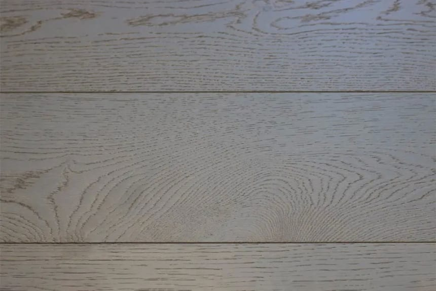 Natural Engineered Flooring Oak Click Slate Grey Brushed UV Lacquered 14/3mm By 190mm By 1900mm