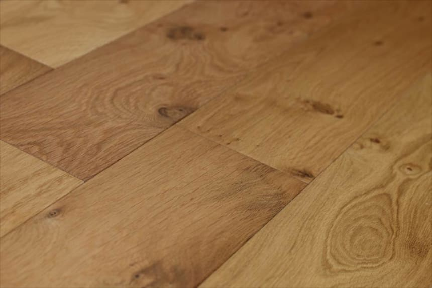 Natural Engineered Flooring Oak Hardwax Oiled 20/6mm By 180mm By 2200mm