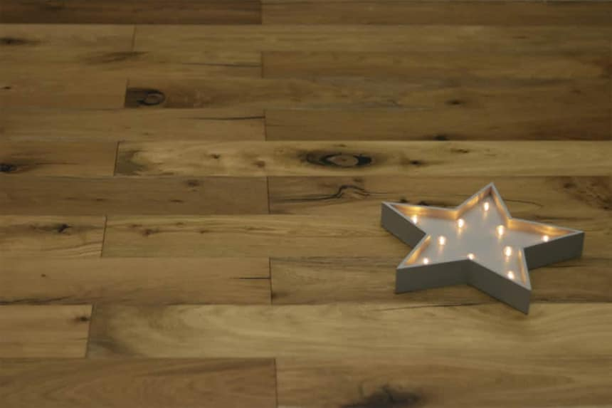Natural Engineered Flooring Oak Light Smoked Brushed UV Oiled 14/3mm By 220mm By 1900mm