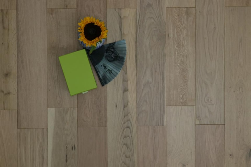 Natural Engineered Oak Non Visible UV Oiled 15/4mm By 220mm By 2200mm