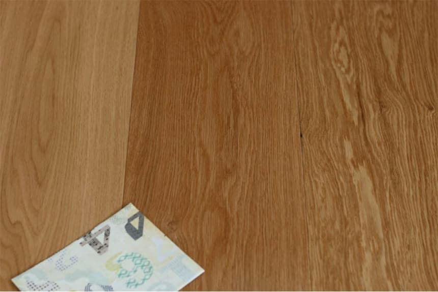 Prime Engineered Flooring Oak Click UV Lacquered 14/3mm By 190mm By 1900mm