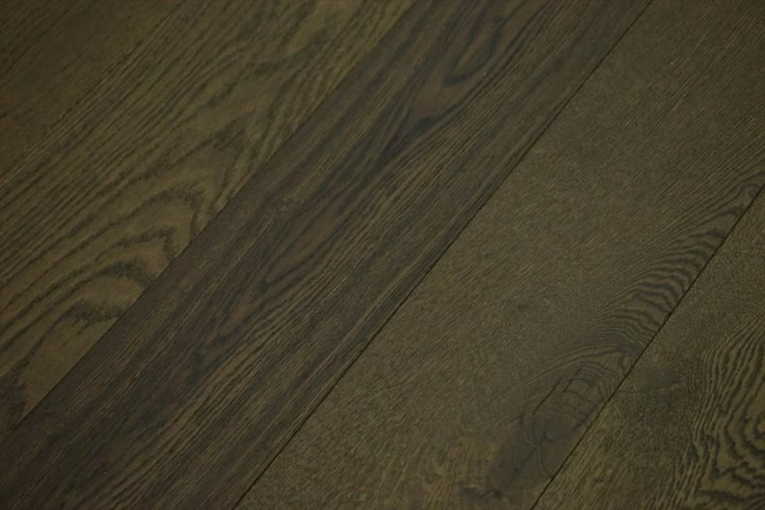 Rustic Engineered Flooring Oak Coffee Brushed UV Oiled 10/3mm By 150mm By 600-1200mm