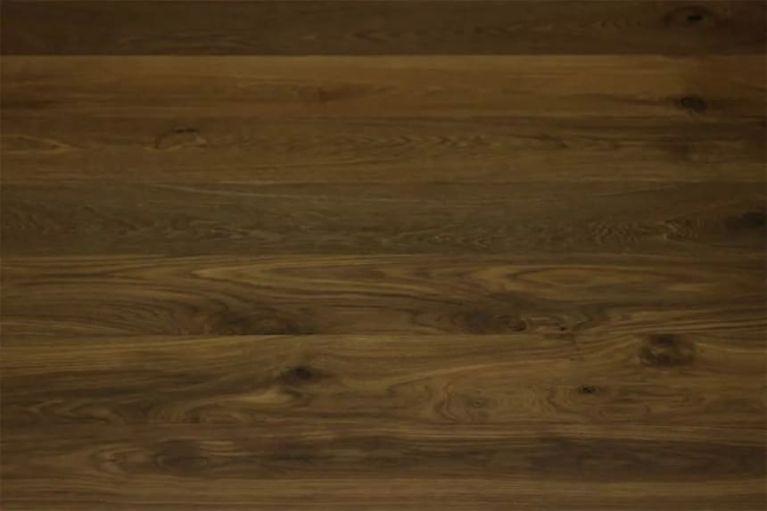Rustic Engineered Flooring Oak Dark Smoked Brushed UV Oiled 14/3mm By 190mm By 1900mm